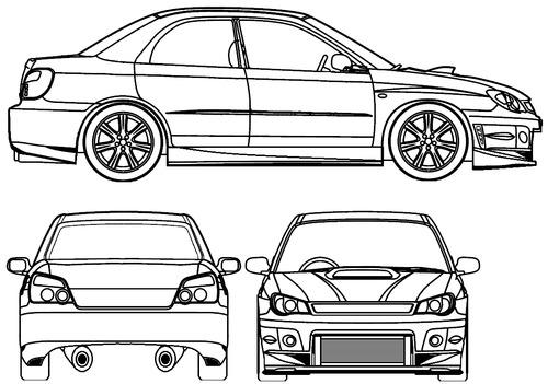 Subaru Impreza STI Tuned (2007)