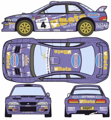 Subaru Impreza WRC (1997)