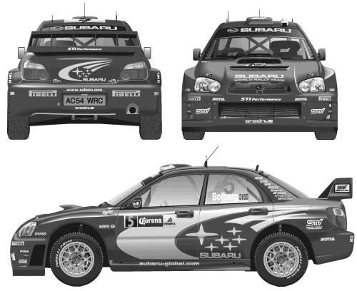 Subaru Impreza WRC (2005)