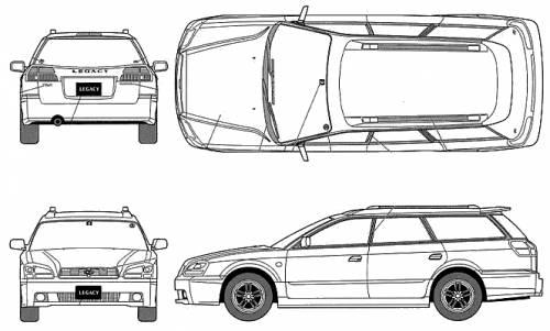 Subaru Legacy Touring Wagon TS type R
