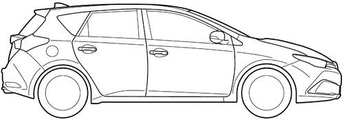 Toyota Auris (2016)