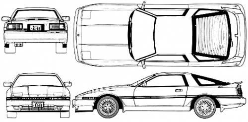 Toyota Celica Supra 3.0 GT Twin-Cam (1989)