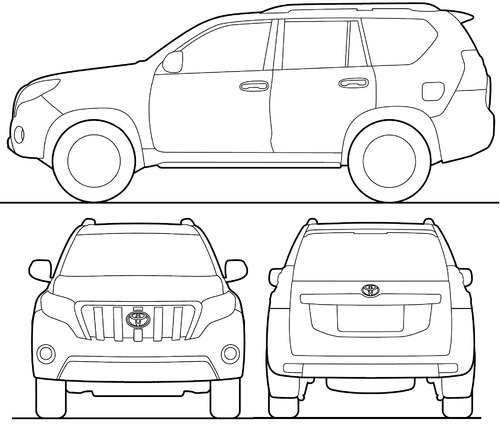 Toyota Land Cruiser 150 Prado LWB (2015)