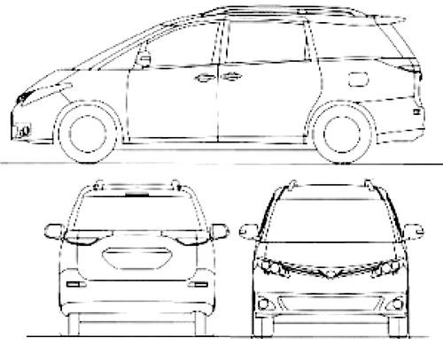 Toyota Previa (2015)