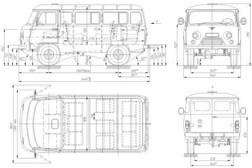 the blueprints blueprints gt cars gt uaz gt uaz 3961