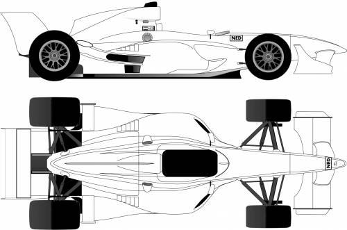 A1 GP Formula Car