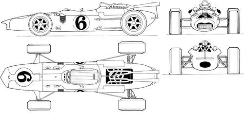 AAR Eagle Climax AAR101 F1 GP (1966)