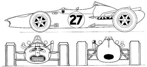 AAR Eagle Climax AAR102 F1 GP (1967)