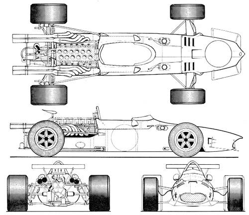 AAR Eagle Climax AAR104 F1 GP (1968)