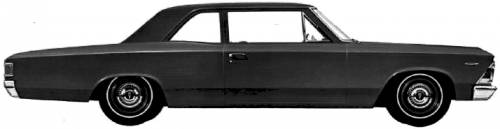 Acadian Beaumont 2-Door Sedan (1966)
