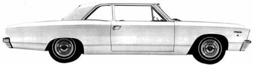 Acadian Beaumont 2-Door Sedan (1967)
