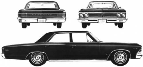 Acadian Beaumont 4-Door Sedan (1966)