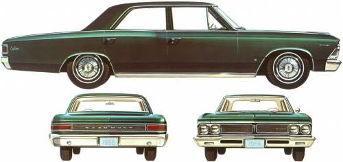 Acadian Beaumont Custom 4-Door Sedan (1966)