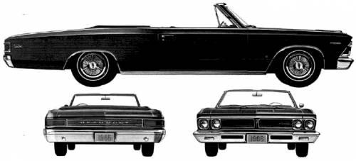 Acadian Beaumont Custom Convertible (1966)