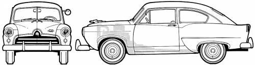 Allstate Model 214 DeLuxe [Kaiser Henry J] (1953)