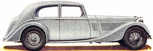 Alvis 4.3 Litre Saloon (1939)