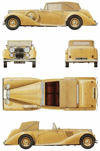 Alvis Alvis Speed 25 DHC (1940)