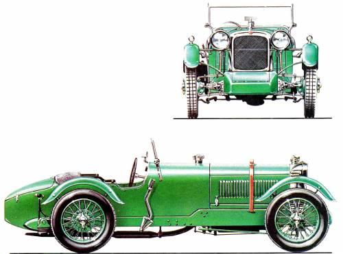 Alvis Front Drive Supercharged TT (1928)