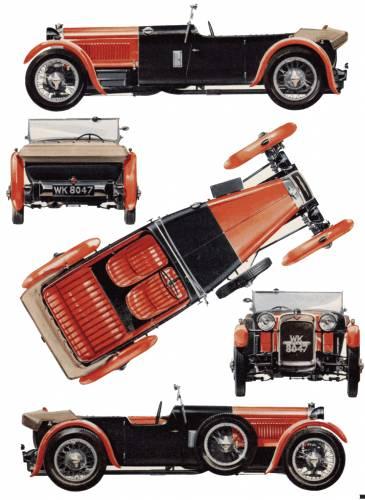 Alvis Front Drive Tourer (1928)