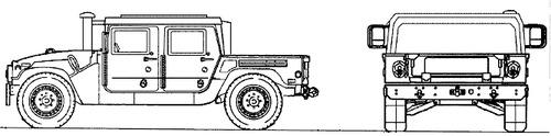 AM General HMMWV M1165A1