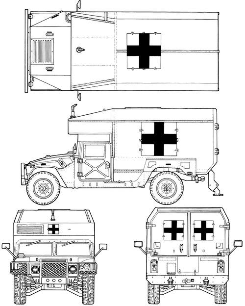 AM General HMMWV M997 MaxiAmbulance