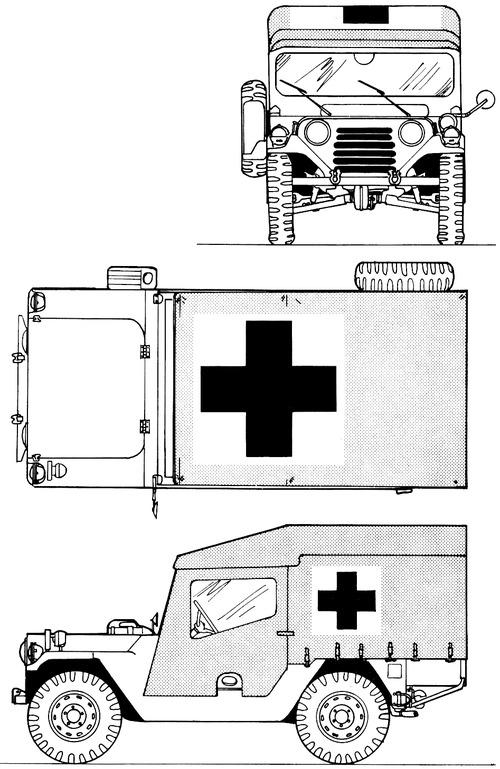 AM General M718A1 Ambulance