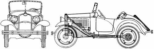 American Austin Roadster Series 2-5 (1933)