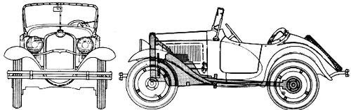 American Austin Roadster Series 2-75 (1933)