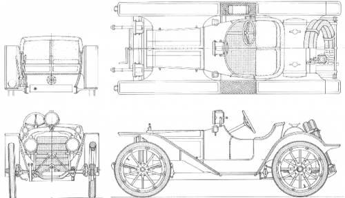 American Underslung Racer (1910)