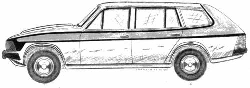 Anadol SW 1600 (world's first fiberglass station wagon vehicle)