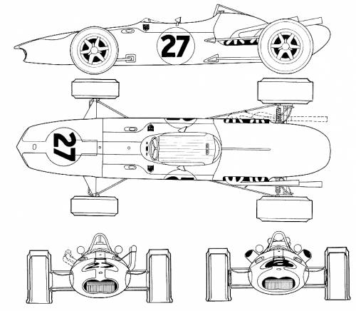 Anglo-American Eagle T1G F1 GP (1966)