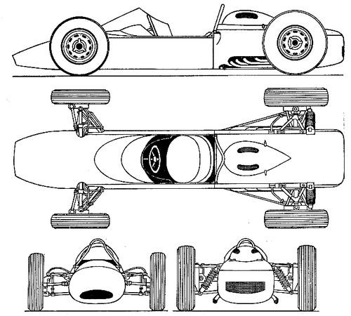ATS Type 100 F1 GP (1961)
