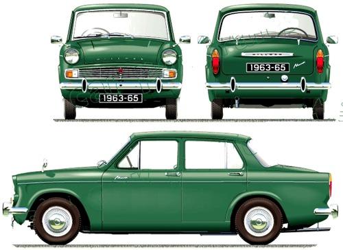 Hillman Minx Series V (1963)