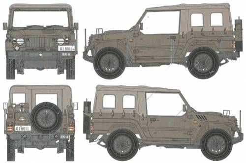 JGSDF type 73 Truck (1996)