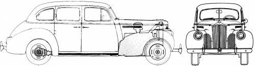 Packard 110 Touring Sedan (1941)