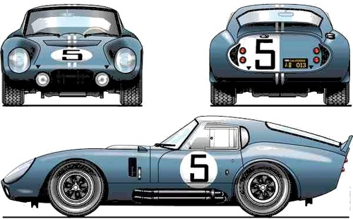 Shelby Cobra Daytona (1964)