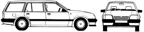 Vauxhall Cavalier Estate (1987)