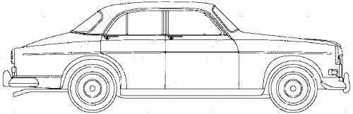 Volvo 121 Amazone (1961)