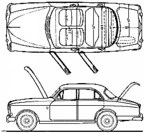 Volvo 122 Amazon (1962)