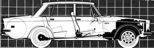 Volvo 164E (1973)