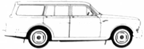 Volvo 220 Amazon Estate (1962)