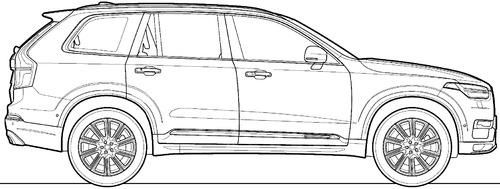 Volvo XC90 D5 (2015)