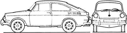 Volkswagen 1600 TL (1967)