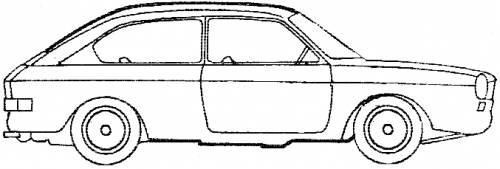 Volkswagen 411 2-Door