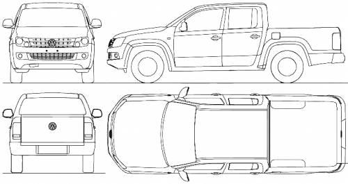 Volkswagen Amarok Crew-Cab (2010)