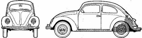 Volkswagen Beetle 1100 (1946)