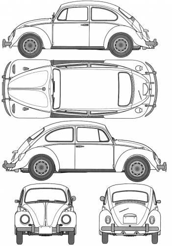 Volkswagen Beetle 1200 (Type1) (1967)