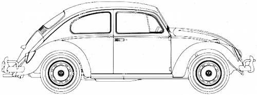 Volkswagen Beetle 1300 (1966)