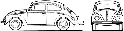 Volkswagen Beetle 1300 (1969)