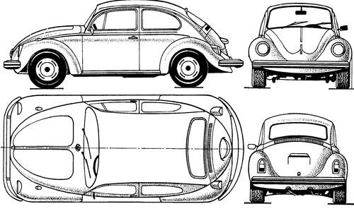Volkswagen Beetle 1300 (1970)